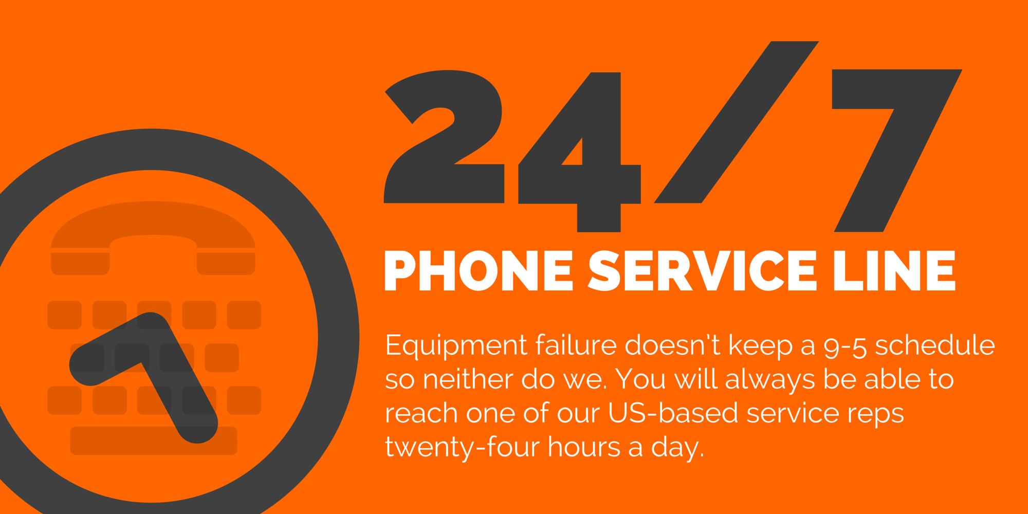 24/7 Service Line